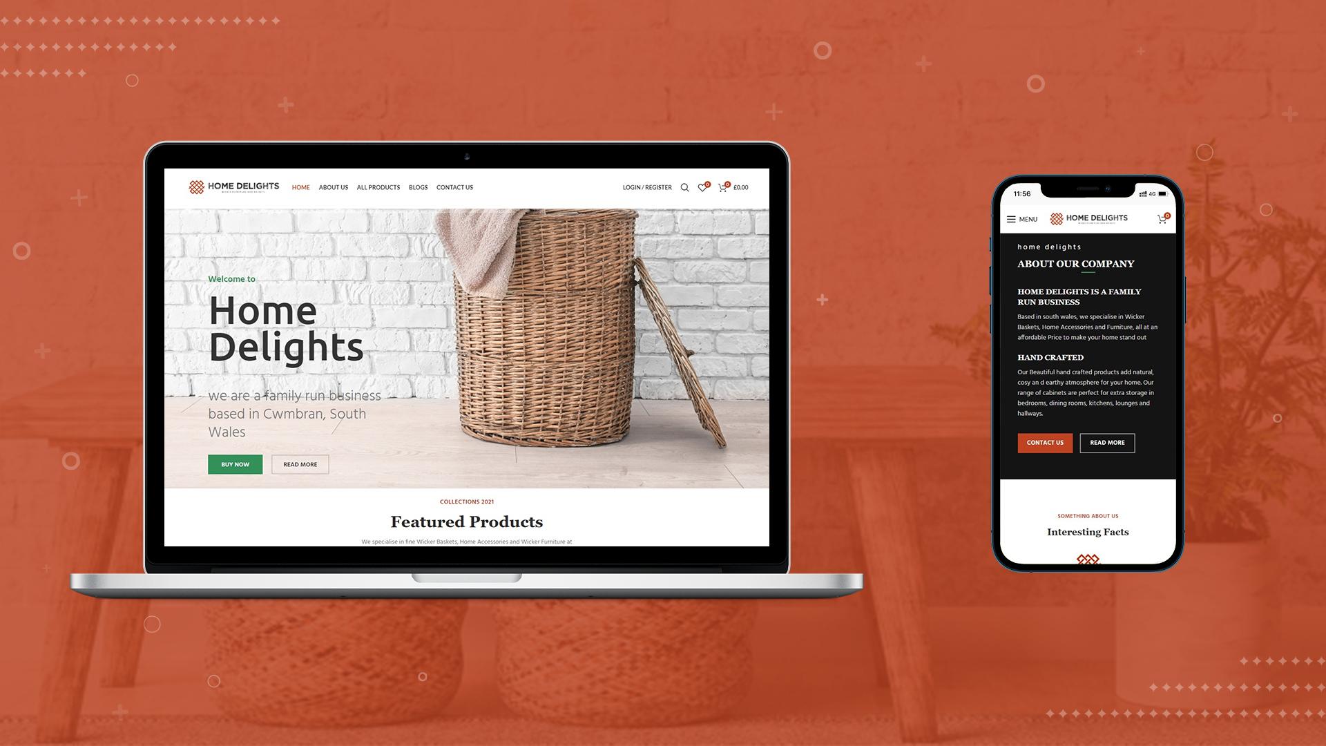 WordPress based eCommerce webiste